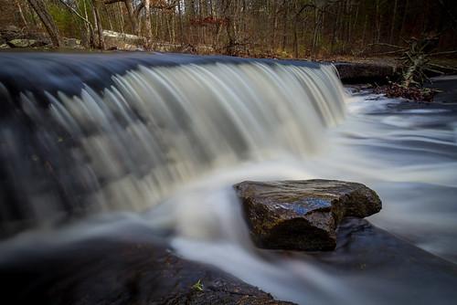 longexposure autumn trees nature water leaves outdoors rocks waterfalls