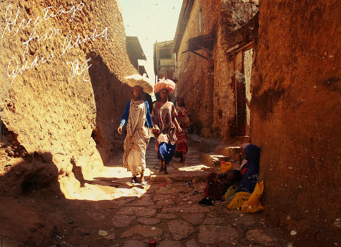 Поздравление от гостей из африки