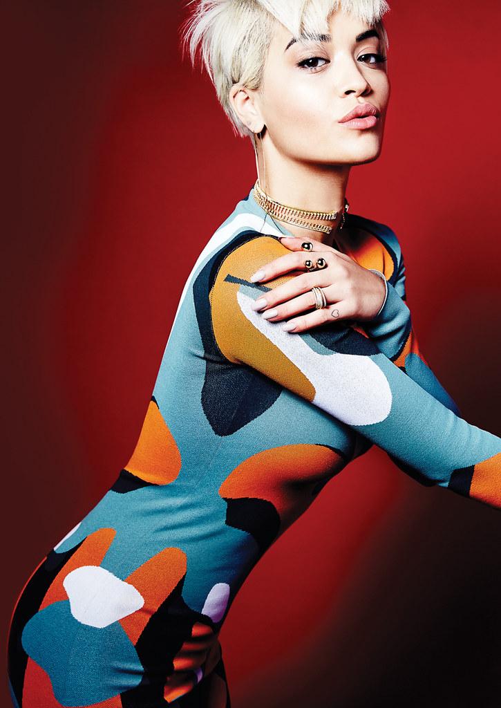 Рита Ора — Фотосессия для «Elle» CA 2015 – 4
