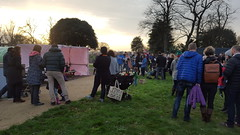 Mountsfield Park carol singing dec 2015