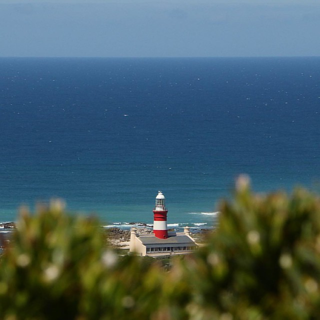 Green, red and blue #lighthouse #capeagulhas