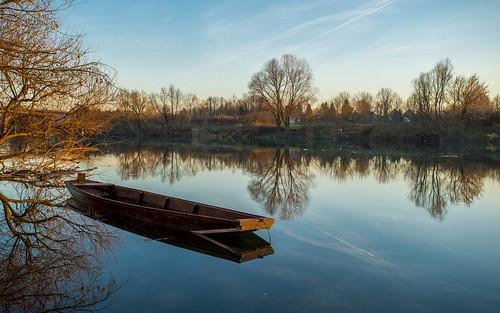 sunset boat croatia rivers kupa hrvatska nikkor173528 riverkupa nikond600