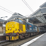 Class 37402 BR Large Logo Blue DRS at Preston Station 07.12.2016 working Northern Railway service to Barrow Awesome Photo Shoot
