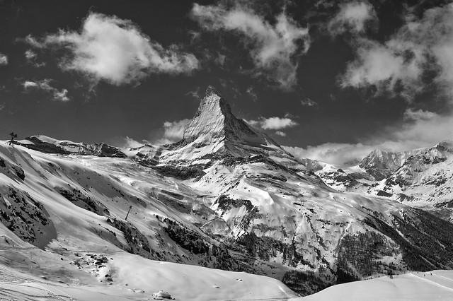 Season greetings from Switzerland , Matterhorn / Cervin / Cervino. (4478m) Zermatt. No.4160.