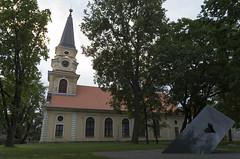 Võru Katariina kirik ja 'Estonia' laevahuku mälestusmärk, 24.06.2016.