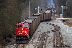 CN 3119 | GE ET44AC | CN Yazoo Subdivision