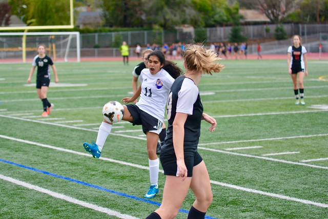 PHOTOS- Girls Soccer- MVHS vs Gunn HS - 1