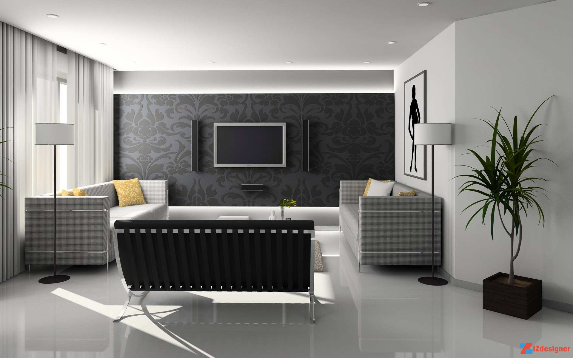 Top 15 ý tưởng thiết kế nội thất đẹp