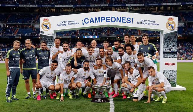 Trofeo Santiago Bernabéu: Real Madrid 2 - Galatasaray 1