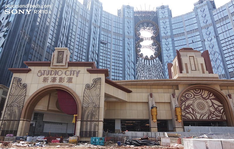 studio city macao front view