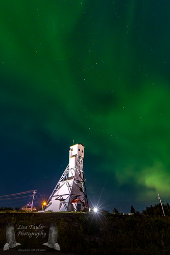 Mine Shaft Northern Lights