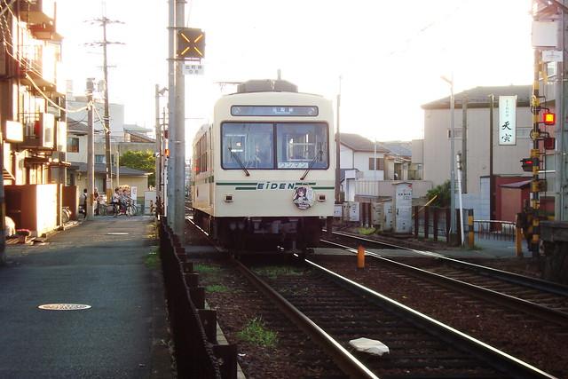 2015/08 叡山電車×わかばガール ヘッドマーク車両 #17
