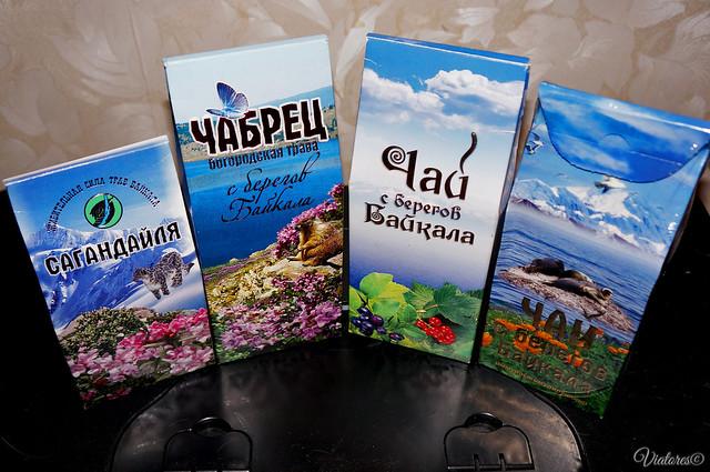 Gifts from Baikal. Tea