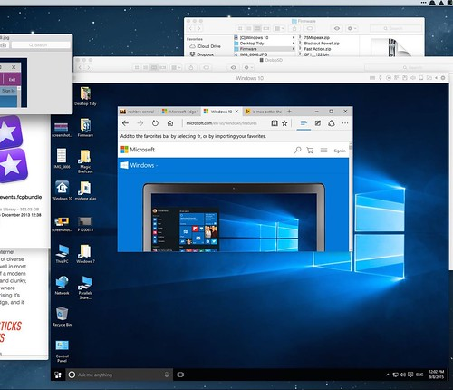 WIndows 10 inside OS/X