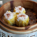 Steamed shrimp and pork dumplings with Yunnan ham