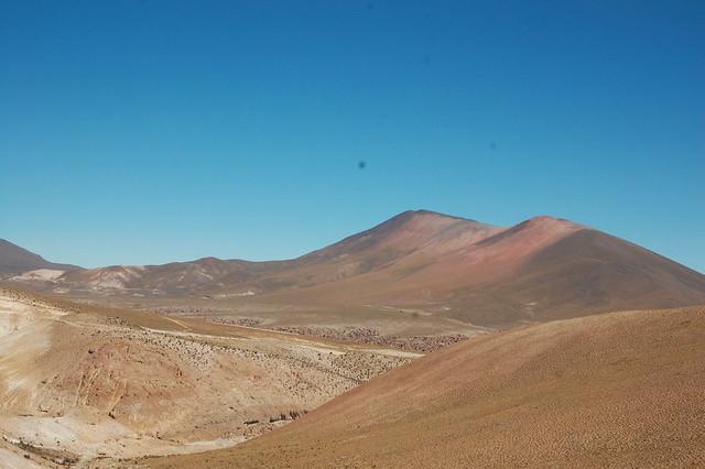Altiplano Landscape, near Parque Nacional Isluga, Tarapacá, Chile