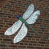 Chicago, Old Town, Franklin Public School, Tile Dragonfly