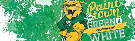 Paint the Town Green and White for Wildcat Pride Week and 2015 Wilmington University Homecoming!