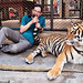 Me and my tiger !! by Faisal Aljunied