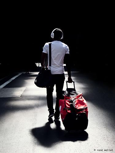 on my way home III por René Mollet