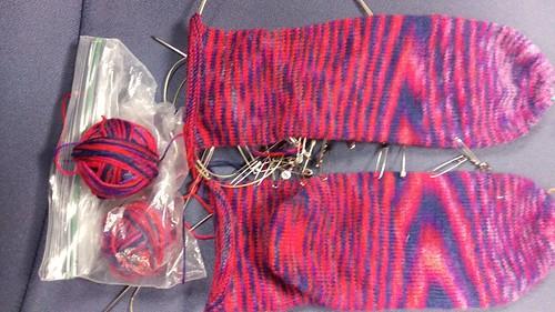 Schoppel-Wolle Fliegende Untertasse Socks