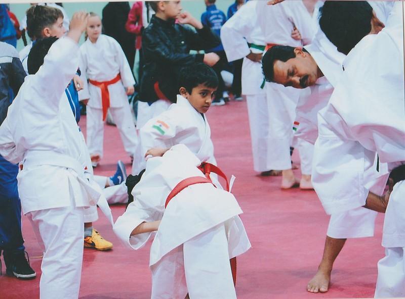 Our Little Karate Star Bhuvan Vishnukumar