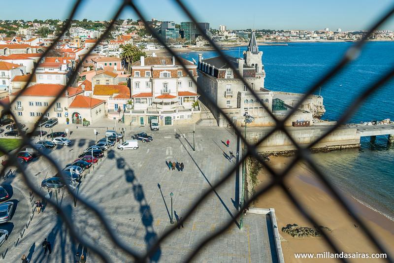 Vistas del Palacio Seixas desde lo alto de la noria