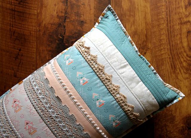 1st Pillow for Quilt Market!