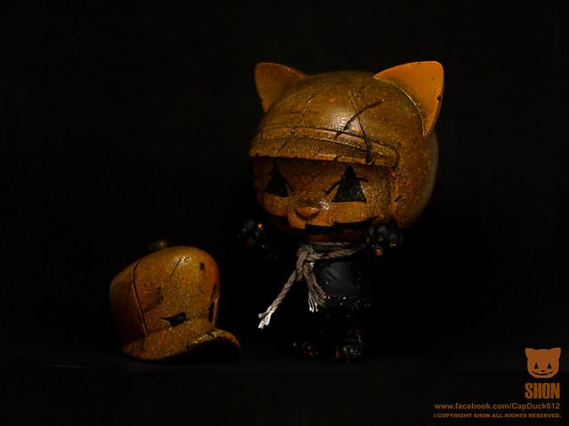 SHON SIDE【萬聖節。南瓜貓騎士】TTF 限定版 Pumpkin Cat Rider A69 攤位