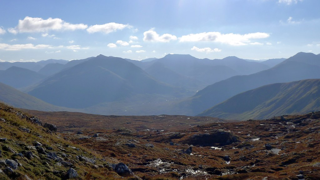 Ciste Dubh and the Kintail Hills