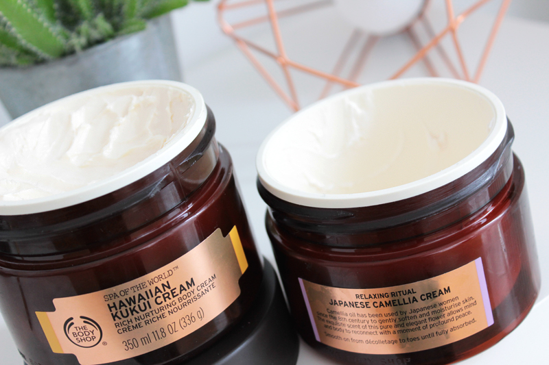 The Body Shop Spa Of The World Kukui Camelia Cream