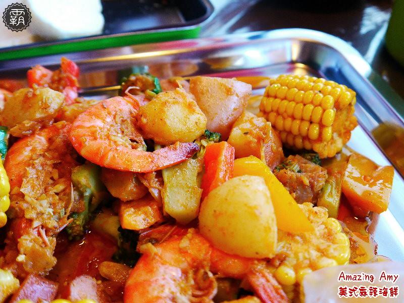 22438348520 bfd7910928 b - 【熱血採訪】神奇艾米美式麻辣海鮮,穿圍兜兜和手套豪邁的吃吧!(已歇業)