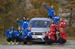 Česká reprezentace v běhu na lyžích poprvé na sněhu