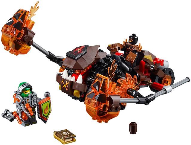 LEGO Nexo Knights 70313 - Moltor's Lava Smasher