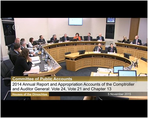 2014 Annual Report and Appropriation Accounts of the Comptroller and Auditor General  Vote 24, Vote 21 and Chapter 13th - 5th of November