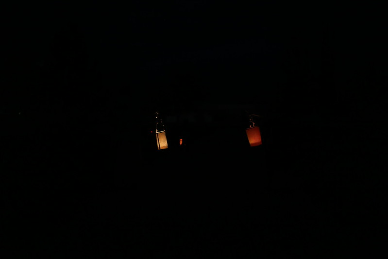 walking lanterns