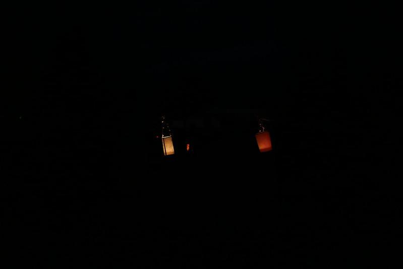 walking lanterns