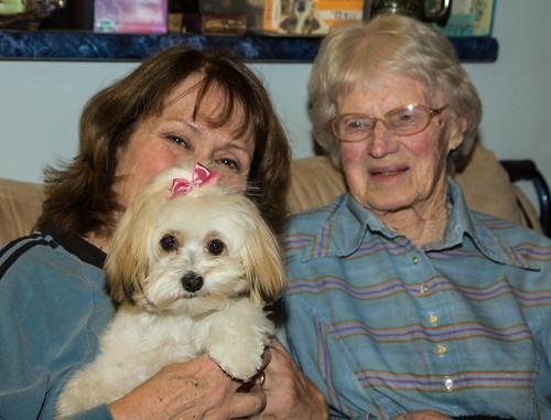 Pip and her grandma