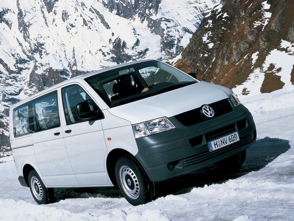 Минивэн Volkswagen T5 Transporter. 2003 - 2009 годы