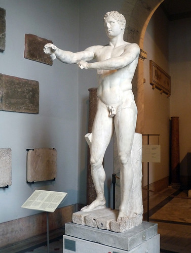 Lysippos, Apoxyomenos | Lysippos, Apoxyomenos (Scraper ...  Lysippos, Apoxy...