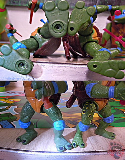 "Nickelodeon ""HISTORY OF TEENAGE MUTANT NINJA TURTLES"" FEATURING LEONARDO - 'MOVIE STAR' LEO v / ..with Original MOVIE STAR Leo '92 (( 2015 ))"