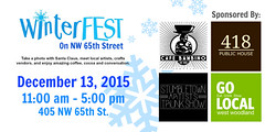 WinterFest on NW 65th Street
