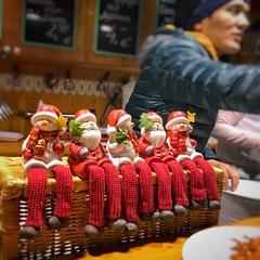 Santas Waiting