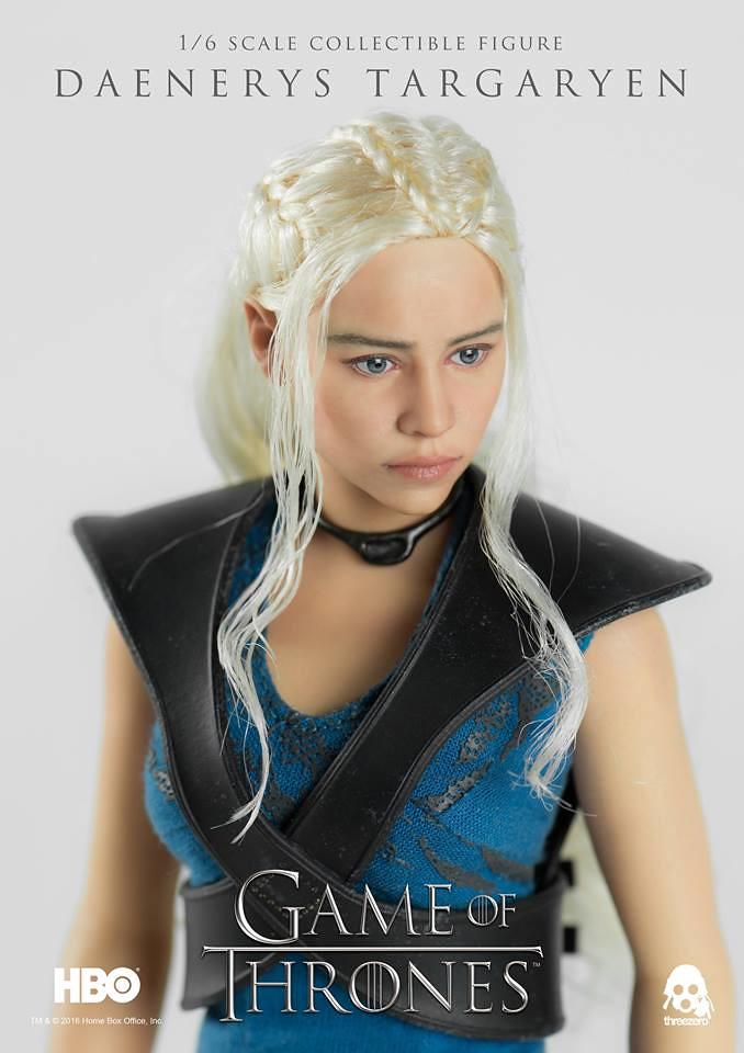 threezero 冰與火之歌系列【龍之母:丹妮莉絲.坦格利安】Daenerys Targaryen 1/6 比例人偶作品
