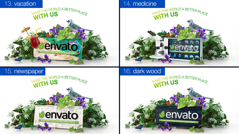 Nature Logo Pack 04
