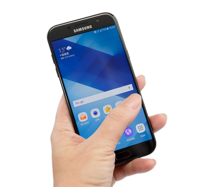 防水強!自拍美!Samsung Galaxy A5/A7 (2017) 測評分享 @3C 達人廖阿輝