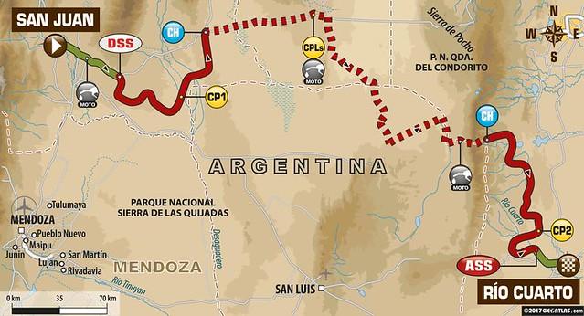 64 км до финиша ралли Dakar 2017. Сергей Карякин первый перед финальным спецучастком!