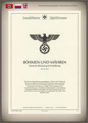 Stamps Germany Böhmen und Mähren