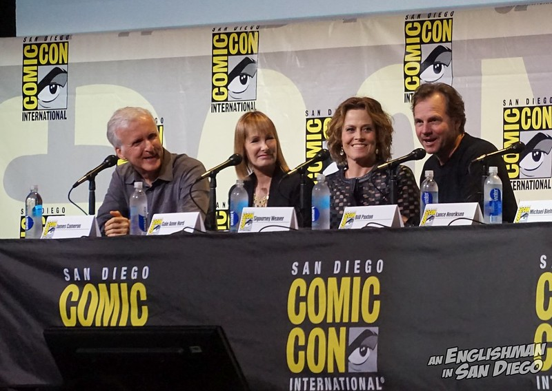 image - SDCC 2016 (Aliens 30th Anniversary Panel, Bill Paxton) 02