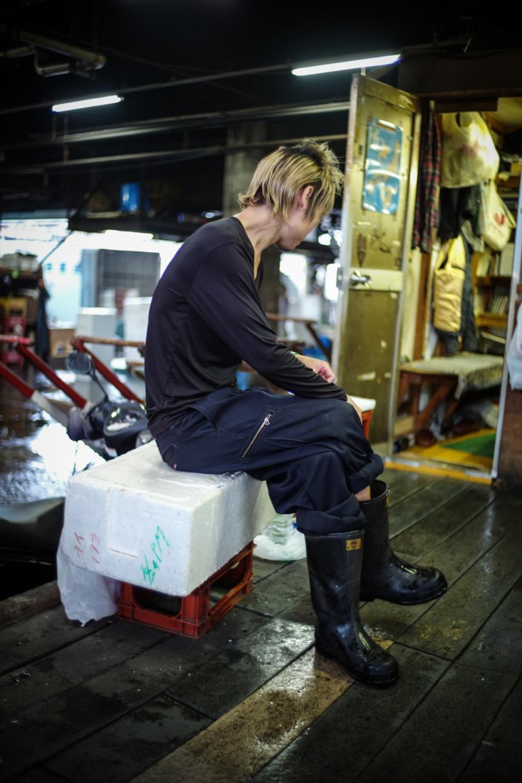 風情文化/探访世界上最具传奇色彩的东京築地魚市 Tsukiji Fish Market16